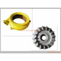 Cast Iron Long Wearing Centrifugal Slurry Pump Parts OEM / ODM Availabl Manufactures