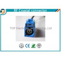 Low Loss FAKRA Female Male RF Coaxial Connector RG174 Double Locked Manufactures