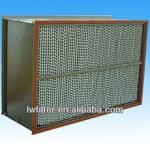 High termperature resistance Separator Pleated HEPA Filter Manufactures