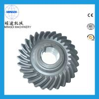 China Precision Forging OEM Spring Helical Spiral Bevel Gear Customized 20 Degree on sale