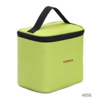 China Aluminum Foil Food Delivery Green Insulated Cooler Bags on sale