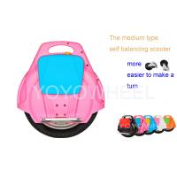Pink solo wheel foldable Stand Up Scooter , Self Balancing Electric monocycle Manufactures