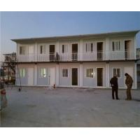 Clean Tidy Rental Apartment Container House Prefab With Complete Water And Electricity Manufactures