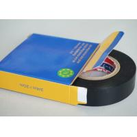 Black 0.2MM Thickness PVC Electrical Tape Rubber SGS And ROHS Certificate Manufactures