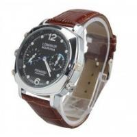 HD 1280*720P watch camera with real time clock display Manufactures
