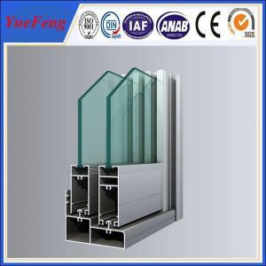 1.6mm thickness thermal break aluminium doors and windows Manufactures