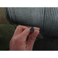 Overhead Electrical Wire Galvanized Steel Strand With High Carbon Steel Material Manufactures