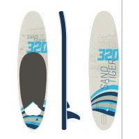 High Pressure Double Layers Inflatable Stand Up Paddle Board Customized Color Manufactures
