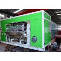 Pulp Molded Recycle Egg Tray Making Machine For Making Egg Carton 4000Pcs / H Manufactures