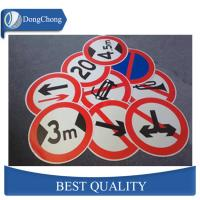 DC Material 5052 Aluminum Circle Sheet Blank for Traffic Signs Manufactures
