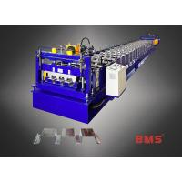 Steel Floor Deck Roll Forming Machine , Roll Forming Equipment With Imported Brand Manufactures
