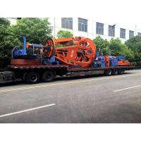 Quality European Tyle Cradle 1+1+3 Core Cable Twisting Machine 50RPM / NSK Bearing for sale