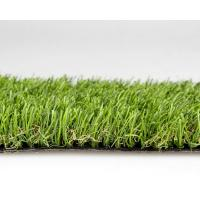 Olive Green Synthetic Grass Lawn For Home Decoration 30mm Dtex11000