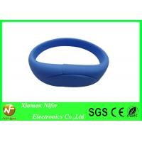 Multi Color Flash Drives 4GB Rubber Silicone USB Bracelet for Promotion or Decoration Manufactures
