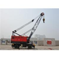 China Rubber Tyred Mobile Gantry Crane For Harbour Loading Unloading Cargos 18-36m Span on sale