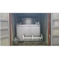 Steel Casing Cross Flow Cooling Tower , Industrial Water Cooling System
