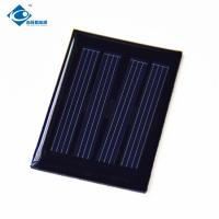 0.1W 2V Poly Epoxy Solar Panel For Solar Energy Power ZW-3450 4 Battery Solar Photovoltaic Panels Manufactures