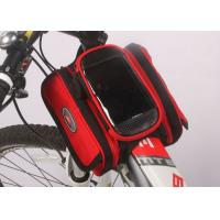 Water Resistant Bicycle Top Tube Bag , Small Top Tube Phone Bag 12*10*5CM Manufactures