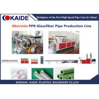 PPR Glassfiber Plastic Pipe Extrusion Machine For 3 Layer PPR Pipe 20-63mm Manufactures