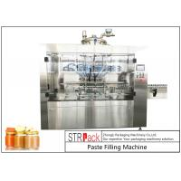 Automatic Linear Baby Food Paste Filling Machine With Servo Driven Pump Manufactures