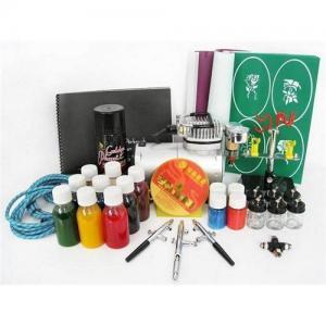 China Airbrush tattoo kit (1) on sale