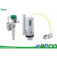 Buy cheap Cable Operated Toilet Flush System Toilet Cistern Fittings With Side / Bottom Fill Option from wholesalers