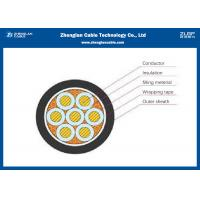 Unarmoured Insulated Industrial Control Cables , Copper Conductor Cable Manufactures