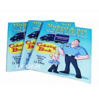 Childrens Coloring Books / Brand Promotion Books 8.5 x 11 Size Manufactures