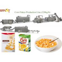 Professional Corn Flakes Production Machine Extruded Maize Flake Machinery Manufactures