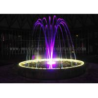 Multi Color Change Jumping Jet Fountain Indoor Water Features For Home Decor Manufactures