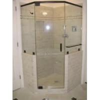 China cupc steam massage shower enclosure with shower tray on sale