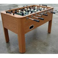 Wooden Soccer Game Table PVC Lamination Steel Rod Robot Player For Club Manufactures
