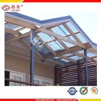 China 10 years warranty hollow polycarbonate roofing sheet factory price on sale