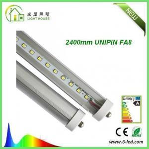 Single Pin FA8 2400mm LED Tube  36W UL CUL 5 Years Warranty