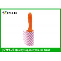 Disposable Lint Roller Remover With Printe Paper Multi Function 6CM / 10CM / 16CM Manufactures