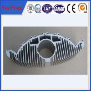 Aluminium extruded profile for heat dissipation, extruded profile aluminum heat sink Manufactures