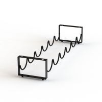 6 Bottles Wine Wire Rack For Home Display Rack Table Wine Organizer Shelf Rack Manufactures