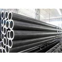 ISO Standard Alloy Steel Tube Black Painting Surface Customized Size