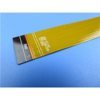 China Dual Layer Flex Printed Circuit Board With PI Stiffener on Head and Tail on sale