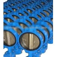 Flange / Butt Welding End Connection 2 - 64 Wafer Stainless Steel Butterfly Valves Manufactures
