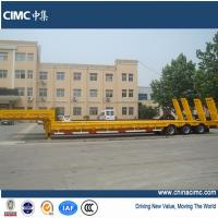 3 axles 60 tons low bed trailer for sale Manufactures