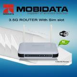 3G HSUPA WiFi Router 4 LAN Ports+2 External Antennas (MBD-R100) Manufactures