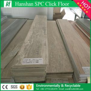 China 2017 new design waterproof vinyl plank flooring/pvc lvt vinyl flooring click on sale