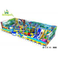 Ball Pool Baby Indoor Playground Colorful Theme With Customized Size