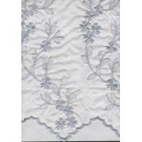 crystal organdy embroidery
