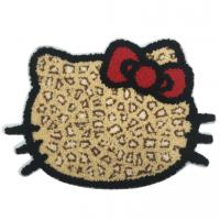 Chenille Embroidered Iron On Appliques , Decorative Animal Towel Patches Manufactures