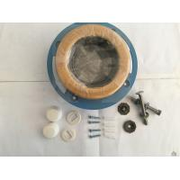 Quality Leak Proof Toilet Fittings Rubber Toilet Wax Ring Gasket With Flange Installed for sale