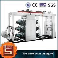China energy saving 6 Color Web High Speed Flexo Printing Machine With Boat on sale