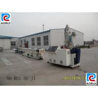 Electric Wire PVC Pipe Extrusion Machine Double Screw PLC Control Manufactures