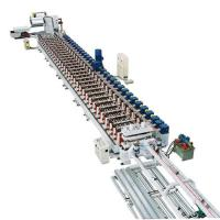 China 10 - 12MPa Hydraulic Pressure 900 roof panel roll forming machine 11 stands Roll Station on sale